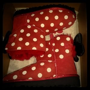 Limited Edition Minnie Mouse Ugg Boots